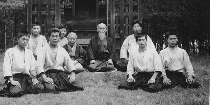 morihei-ueshiba-morihiro-saito-group-c1955