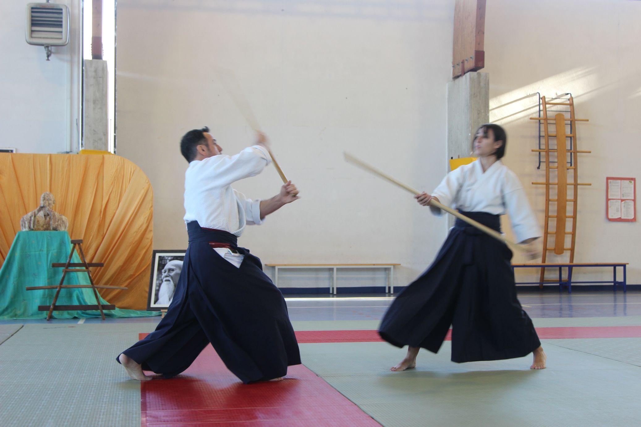 stage fondazione seikikan - tecniche con jo