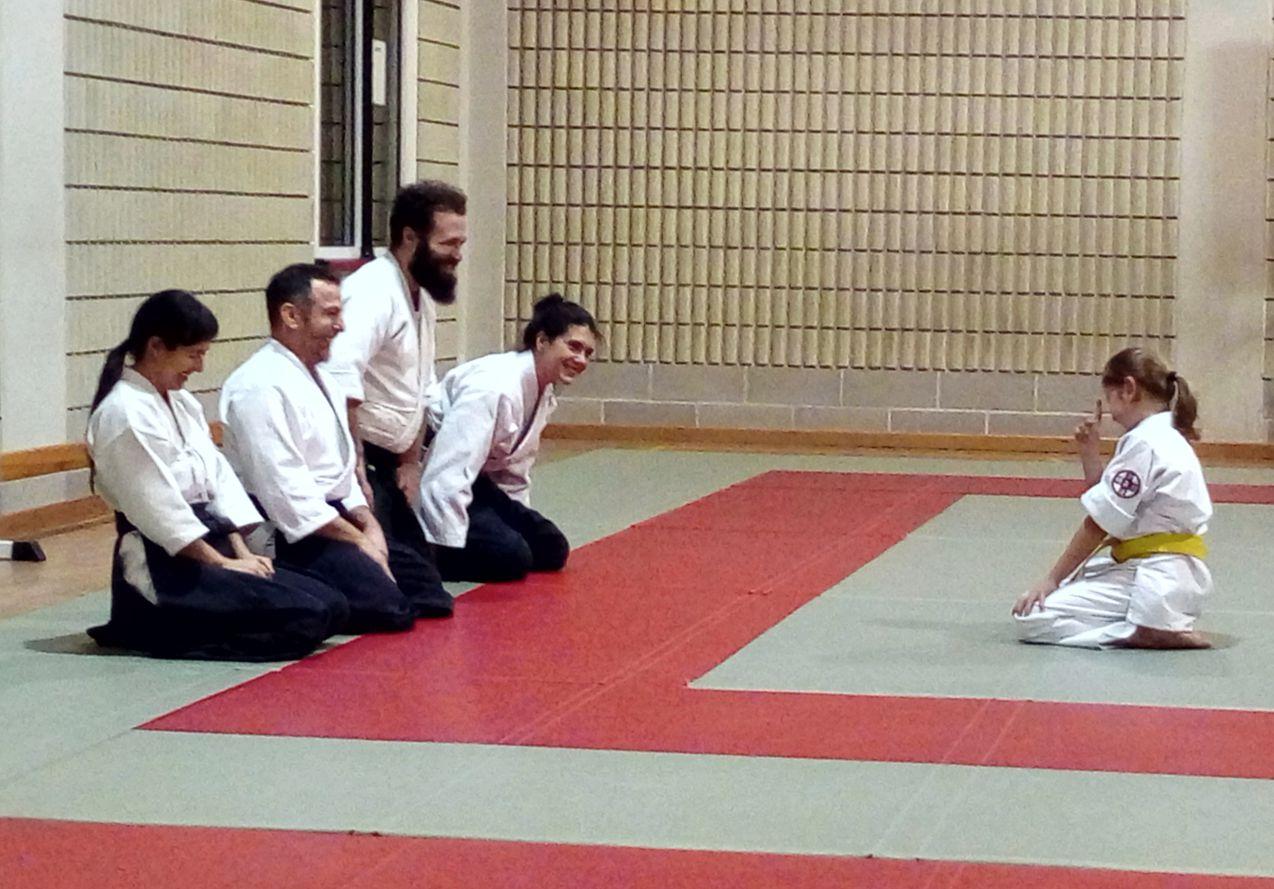 Esami del corso bambini - scuola Aikido Seikikan